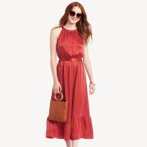 Greylin Sole Society Kylie Halter Tie Maxi Dress